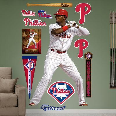 Philadelphia Phillies Domonic Brown Wall Decal Sticker