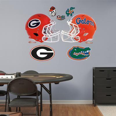 NCAA Florida-Georgia Rivalry Pack Wall Decal Sticker