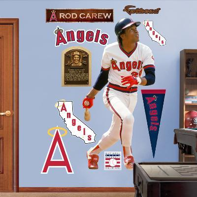 Los Angeles Angels Rod Carew Wall Decal Sticker