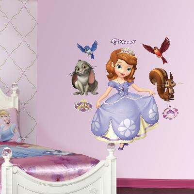 Sofia the First Collection Wall Decal Sticker