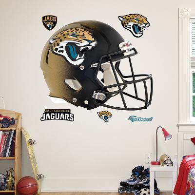 Jacksonville Jaguars 2013 Helmet Wall Decal Sticker