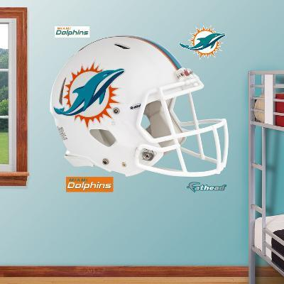 Miami Dolphins 2013 Helmet Wall Decal Sticker