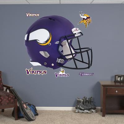 Minnesota Vikings 2013 Helmet Wall Decal Sticker