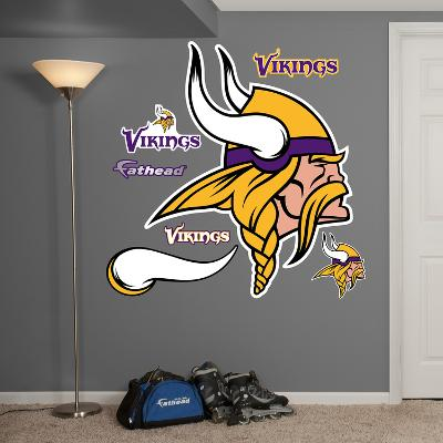 NFL Minnesota Vikings 2013 Logo Wall Decal Sticker