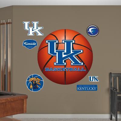 NCAA Kentucky Wildcats Basketball Wall Decal Sticker