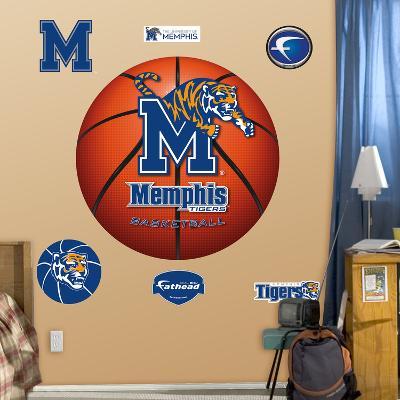 NCAA Memphis Tigers Basketball Wall Decal Sticker