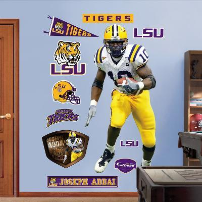 NCAA/NFLPA LSU Tigers Joseph Addai Wall Decal Sticker