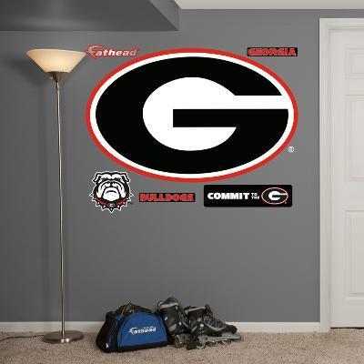 NCAA Georgia Bulldogs 2013 Logo Wall Decal Sticker