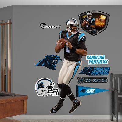 NFL Carolina Panthers Cam Newton 2012 Wall Decal Sticker