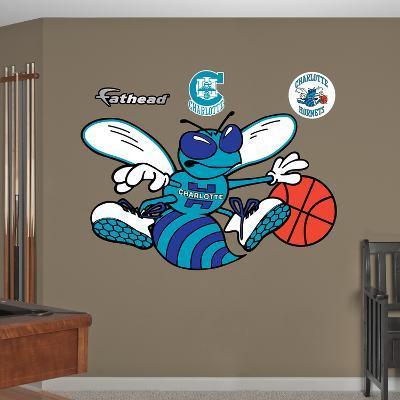 NBA Charlotte Hornets Classic Logo Wall Decal Sticker