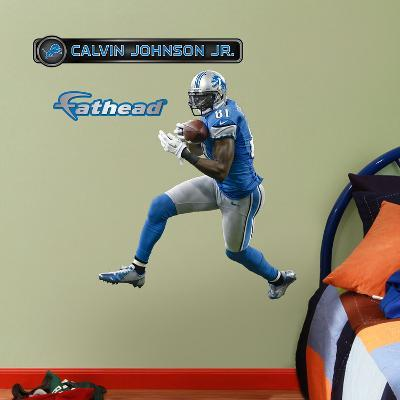 Detroit Lions Calvin Johnson Jr. Wall Decal Sticker