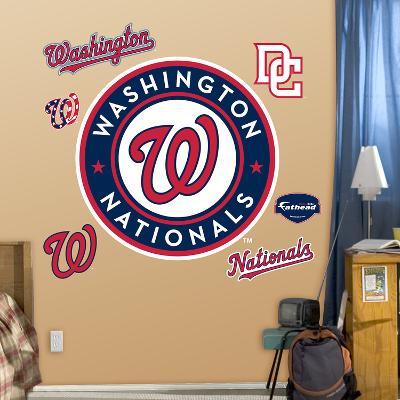 Washington Nationals 2011 Logo Wall Decal Sticker