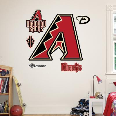 Arizona Diamondbacks Primary Logo Wall Decal Sticker