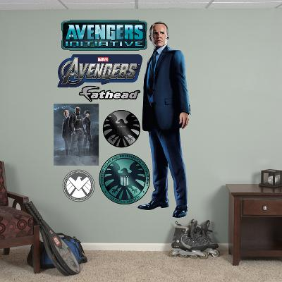 Marvel Agent Coulson Wall Decal Sticker