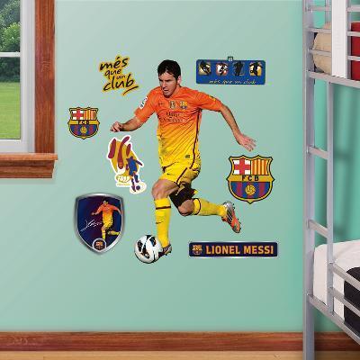 FC Barcelona Lionel Messi Junior Wall Decal Sticker
