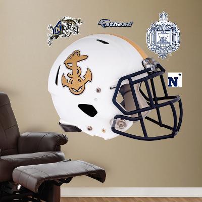 U.S. Naval Academy Pro Combat Helmet Wall Decal Sticker