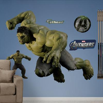 Marvel Hulk Avengers Live Action Photo Wall Decal Sticker