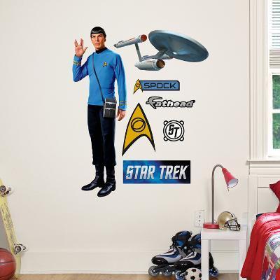 Star Trek Spock - Fathead Jr. Wall Decal Sticker