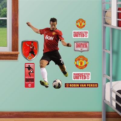 Manchester United Robin van Persie 2012-13 Jr. Wall Decal Sticker