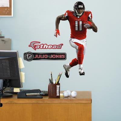 Atlanta Falcons Julio Jones - Fathead Jr Wall Decal Sticker