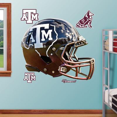 Texas A&M Aggies State Helmet Wall Decal Sticker