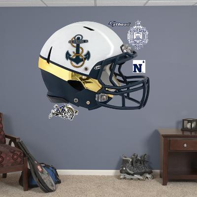 U.S. Naval Academy Rivalry Helmet Wall Decal Sticker