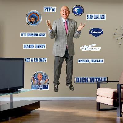 NCAA Dick Vitale Wall Decal Sticker