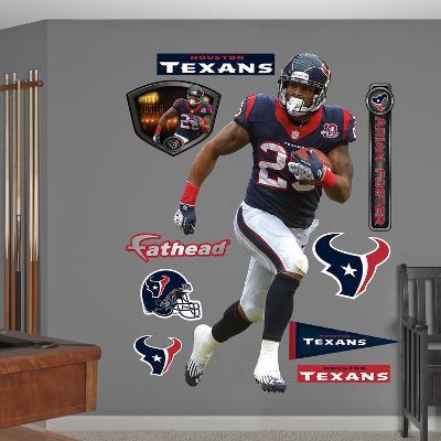 NFL Houston Texans Arian Foster - Running Back Wall Decal Sticker