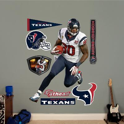 NFL Houston Texans Andre Johnson - Away Wall Decal Sticker