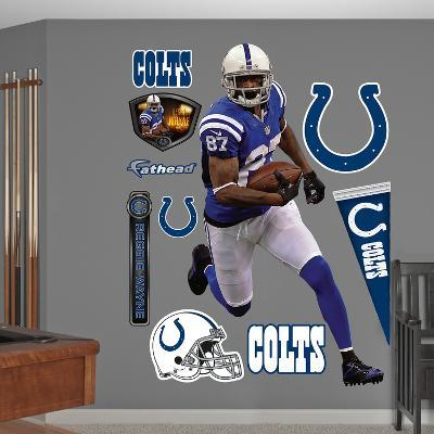 NFL Indianapolis Colts Reggie Wayne Wall Decal Sticker