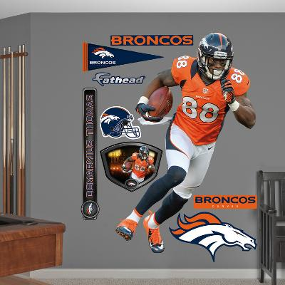 NFL Denver Broncos Demaryius Thomas Wall Decal Sticker