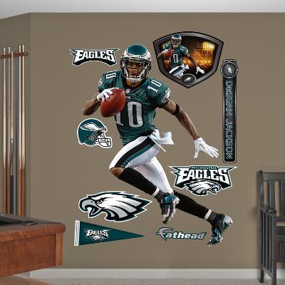 NFL Philadelphia Eagles DeSean Jackson Wall Decal Sticker