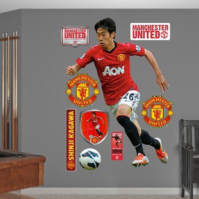 Manchester United Shinji Kagawa Wall Decal Sticker
