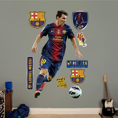 FC Barcelona Lionel Messi Wall Decal Sticker