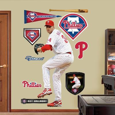Philadelphia Phillies Roy Halladay-Pitcher Wall Decal Sticker
