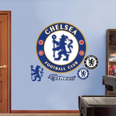 Chelsea FC Logo Wall Decal Sticker