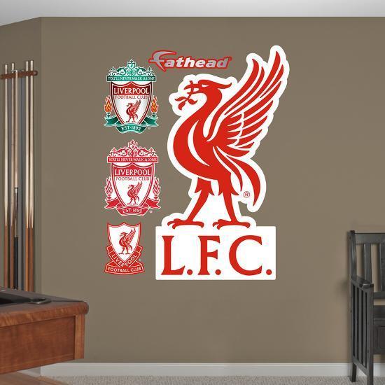 'Liverpool LFC Liverpool L.F.C Crest Wall Decal Sticker' Wall Decal - | AllPosters.com
