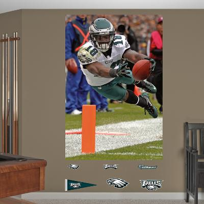 NFL Philadelphia Eagles Jeremy Maclin Touchdown Dive - In Your Face Mural Decal Sticker