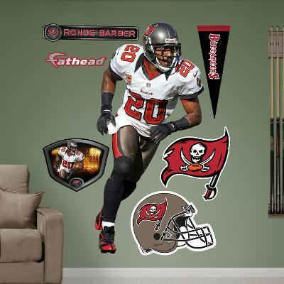 NFL Tampa Bay Buccaneers Ronde Barber Wall Decal Sticker