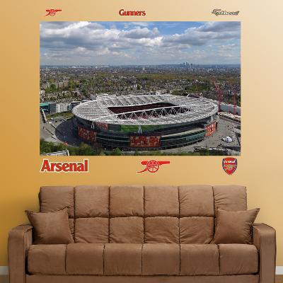 Arsenal Aerial Stadium Mural Decal Sticker