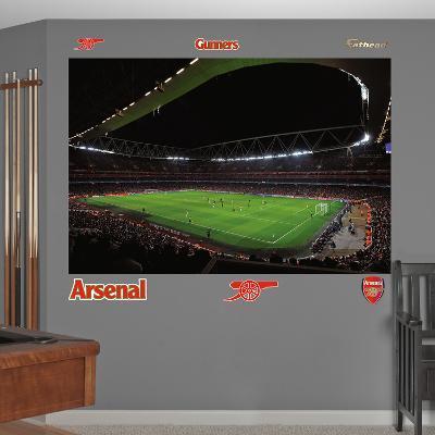 Arsenal 2012 Stadium Mural Decal Sticker