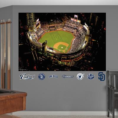 MLB San Diego Padres 2013 Stadium Mural Decal Sticker