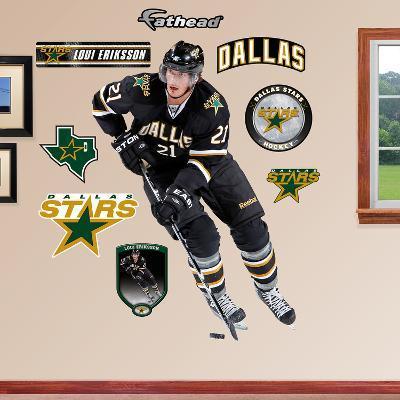 NHL Dallas Stars Loui Eriksson Wall Decal Sticker