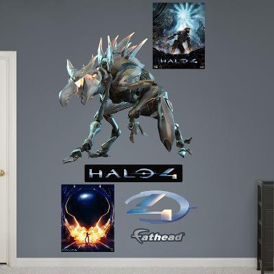 Crawler Halo 4 Wall Decal Sticker