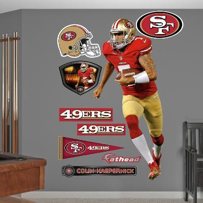NFL San Francisco 49ers Colin Kaepernick Wall Decal Sticker
