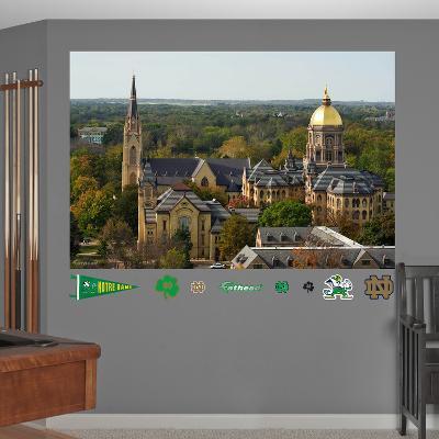 NCAA Notre Dame Fighting Irish Campus Mural Decal Sticker