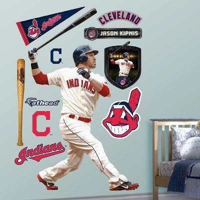 Cleveland Indians Jason Kipnis Wall Decal Sticker