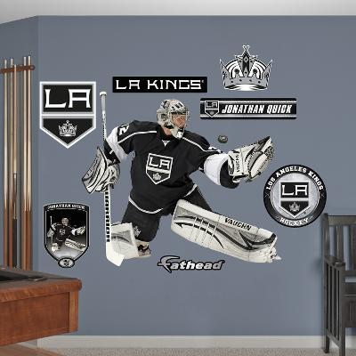 NHL Los Angeles Kings Jonathan Quick Wall Decal Sticker