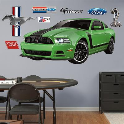 Ford Muscle Mustang Boss Wall Decal Sticker