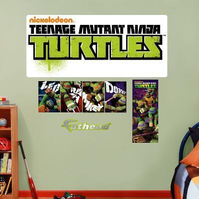 Teenage Mutant Ninja Turtles Logo Wall Decal Sticker
